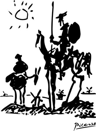 Don Quijote - Picasso