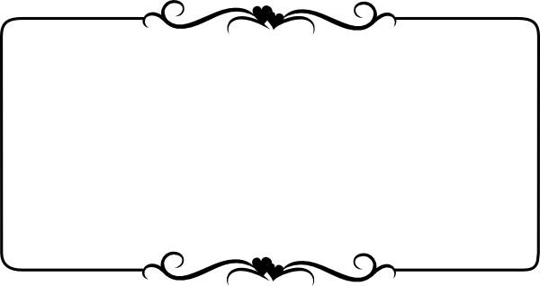 white clipart outline frame in white clipart frame.png collection - ClipartXtras