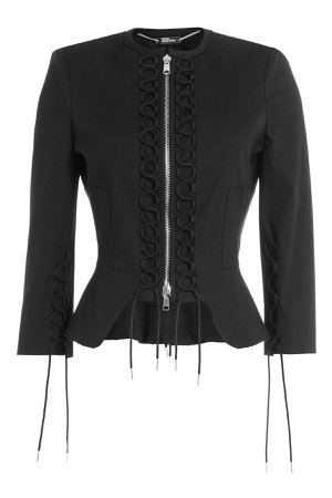 Jacket with Lace-Up Detail Gr. IT 38