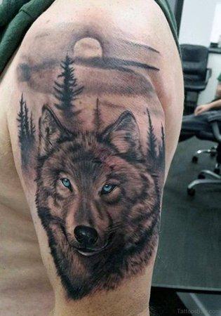 0097177d624337e6ec79a12061684fba-wolf-tattoos-tattoos-for-men.jpg (716×1024)
