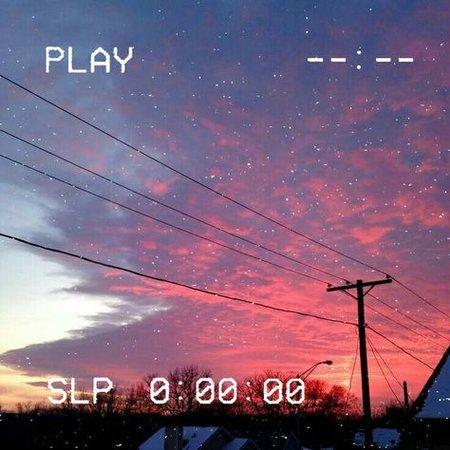grunge aesthetic sunset skies photography