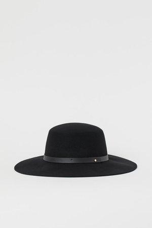 Wool Hat - Black - Ladies | H&M US