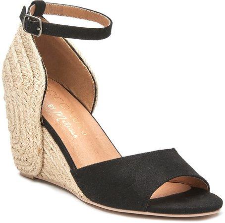 Horizon Ankle Strap Espadrille Wedge Sandal