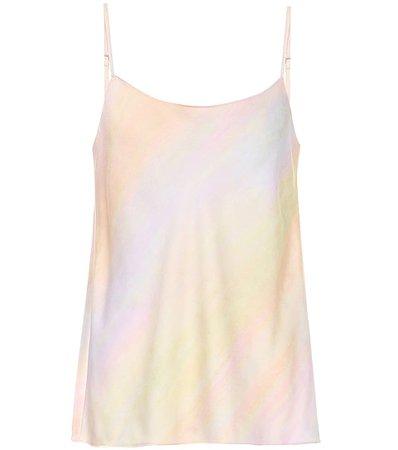 Vince - Marble-printed camisole | Mytheresa