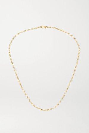 Gold 18-karat gold necklace | Pippa Small | NET-A-PORTER