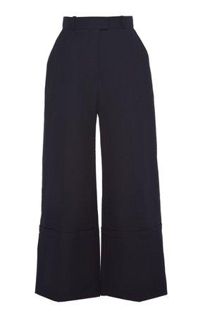 High-Rise Cotton Wide-Leg Pants by Martin Grant | Moda Operandi
