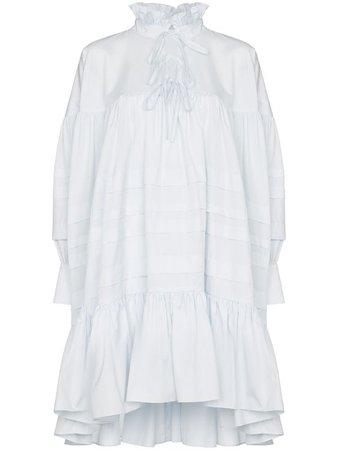 Cecilie Bahnsen Ruffled Flared Dress - Farfetch