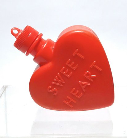 RARE VINTAGE 1977 CeDe SWEET HEART Powder Candy Container MINTY - $12.00 | PicClick