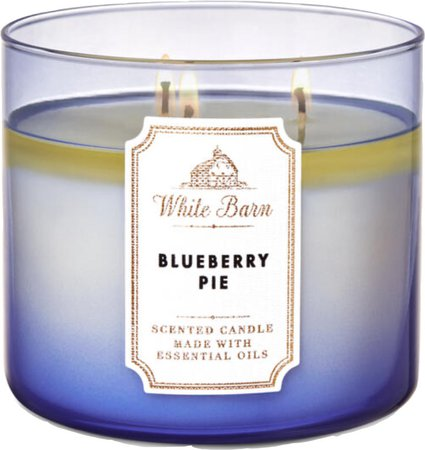blueberry pie candle