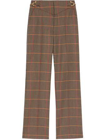 Burberry, Houndstooth Tailored Trousers Pants