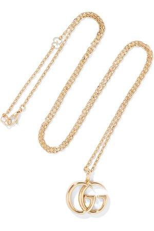 Gucci   18-karat gold necklace   NET-A-PORTER.COM
