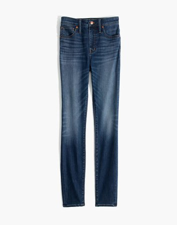 Women's Curvy High-Rise Skinny Jeans in Danny Wash | Madewell