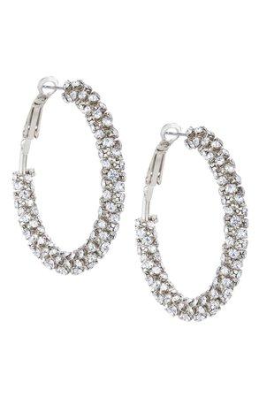 Nina Wrapped Hoop Earrings | Nordstrom