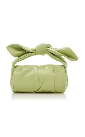 Nane Knotted Leather Top Handle Bag by Rejina Pyo | Moda Operandi