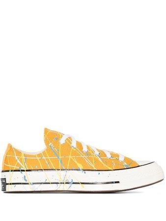 Converse Chuck 70 paint-splatter sneakers - FARFETCH