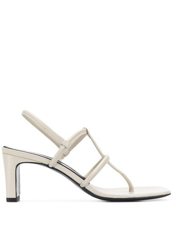 Dorateymur Thong Sandals FDORWTHS104905 Neutral | Farfetch