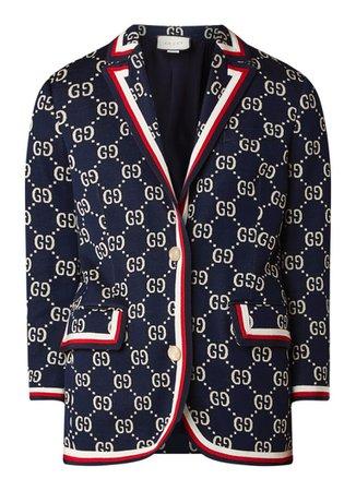 Gucci Blazer Jersey Darkblue Blue