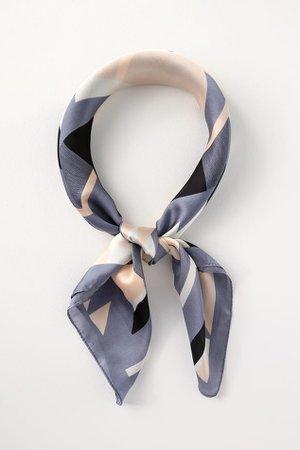 Cute Blue Scarf - Blue Print Scarf - Blue Print Multi Scarf