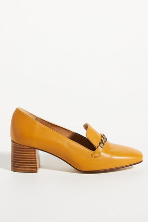 Susie Heeled Loafers | Anthropologie