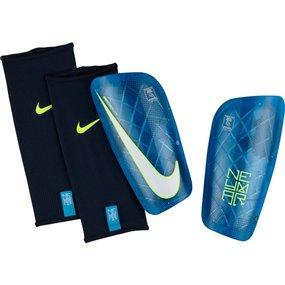 Nike Neymar Mercurial Lite Soccer Shin Guards (Blue Orbit/Volt/White) | SP2122-450 | SOCCERCORNER.COM