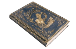Dark-Blue + Gold Book png