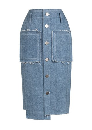 NEW IN STOCK - TANJA DENIM SKIRT - Jamie Wei Huang