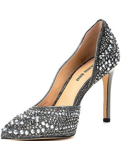 Gianni Bini Mairah Jeweled d'Orsay Stiletto Pumps | Dillard's