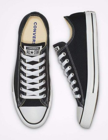 Converse Chuck Taylor All Star Black Low Tops | Tillys