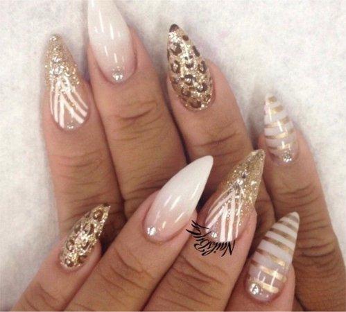 neutral manicure