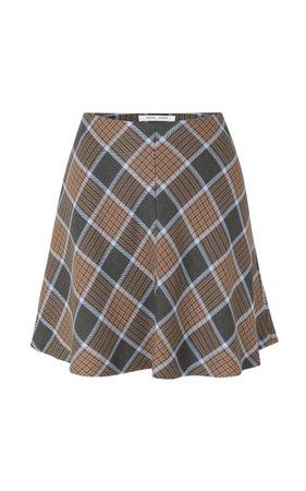 Samsøe Samsøe Kora Plaid Skirt Size: L
