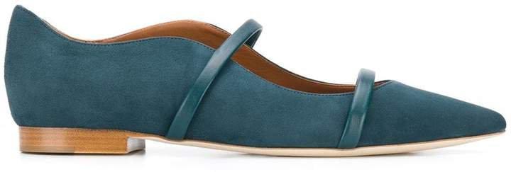 suede ballerina shoes