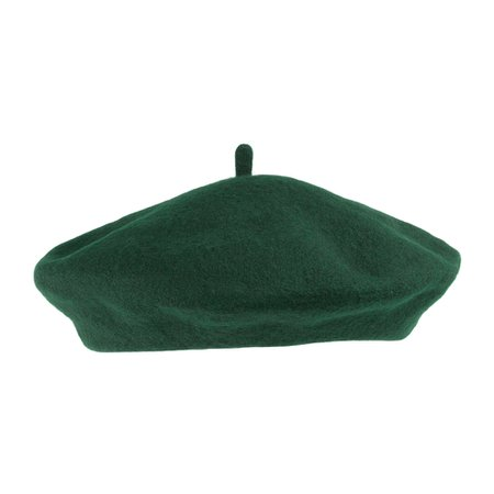Dark green beret