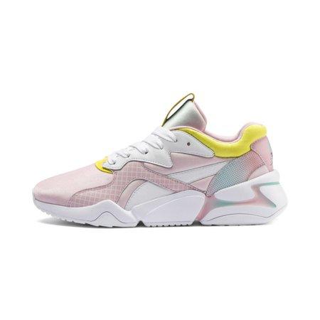 Nova x Barbie Womens Sneakers   Puma White-Orchid Pink   PUMA Lows   PUMA United States
