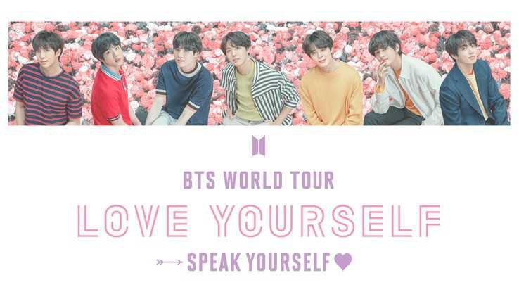 BTS WORLD TOUR LOVE YOURSELF SPEAK YOURSELF