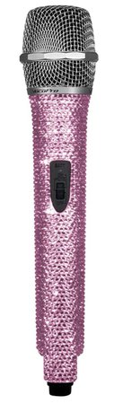 Pink Diamond Microphone