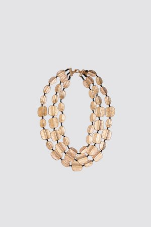 MULTI-STRAND NECKLACE WITH PLATES | ZARA Netherlands