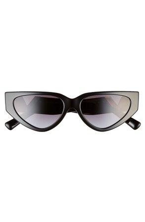 Valentino VLOGO 54mm Cat Eye Sunglasses | Nordstrom