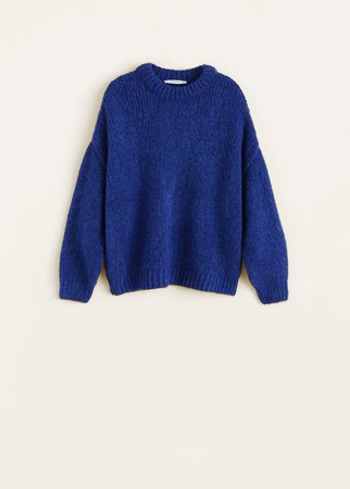 Chunky-knit sweater - Women | Mango USA