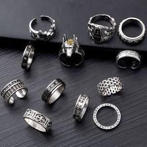 emo rings