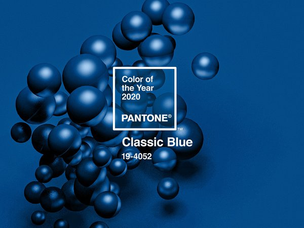Classic Blue Pantone 2020 by Nicholas Lokasasmita on Dribbble