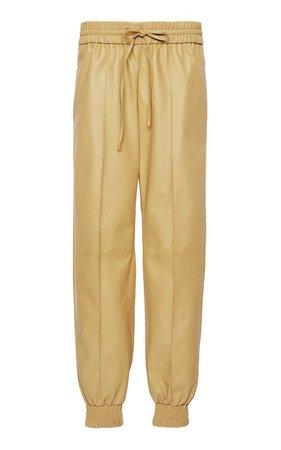 Cropped Leather Pants By Jil Sander | Moda Operandi