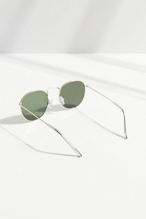 Billie Metal Round Sunglasses | Urban Outfitters