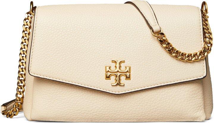 Small Kira Leather Convertible Crossbody Bag