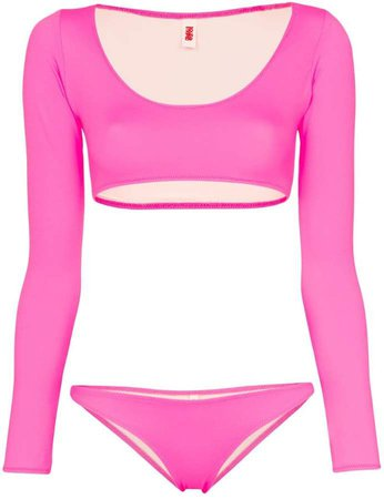 Colette long sleeved bikini