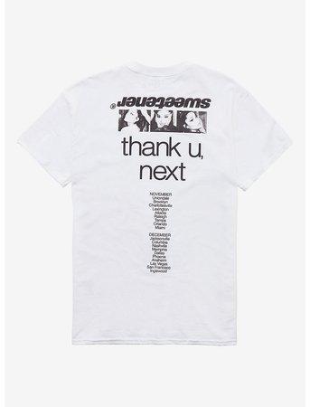 Ariana Grande Sweetener Black & White Photo Girls T-Shirt
