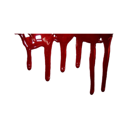 Red Aesthetic Blood Drip