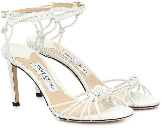 Lovella 85 leather sandals