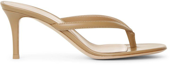 Calypso 70 tan leather sandals