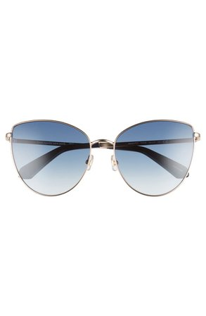 kate spade new york dulce 59mm cat eye sunglasses | Nordstrom