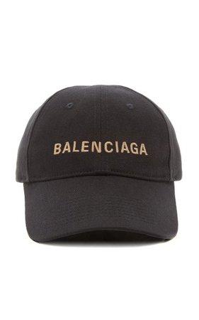 Embroidered Cotton-Twill Baseball Cap By Balenciaga | Moda Operandi